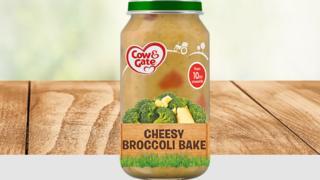 Cheesy Broccoli Bake jar