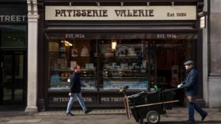 Patisserie Valerie window