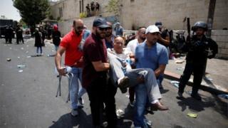 Червоний Півмісяць заявляє про поранення понад 60 палестинців