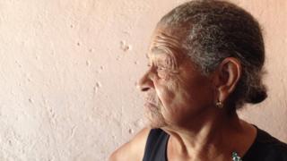 Moradora da comunidade quilombola Contente, no Piauí