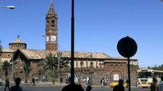 Eritrean Catholic cathedral