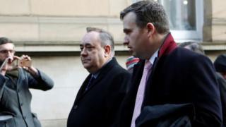 İskoçya Özerk Yönetimi'nin eski başbakanı Alex Salmond