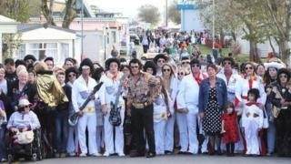 Elvis yn Porthcawl