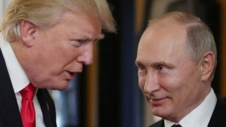 ترامپ از پوتین به خاطر تعریف از عملکرد اقتصادیش قدردانی کرده