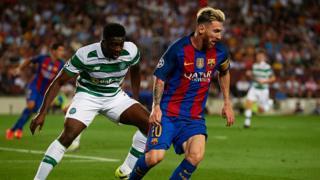 Les joueurs du FC Barcelone ont écrasé le Celtic de Glasgow 7 à 0