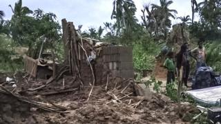"Cyclone Kenneth don ""wipe out"" entire village for Mozambique - UN"