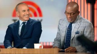 Matt Lauer and Al Roker host NBC's Today in 2014