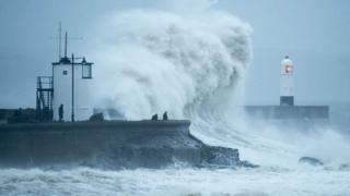 Stormy weather in Porthcawl
