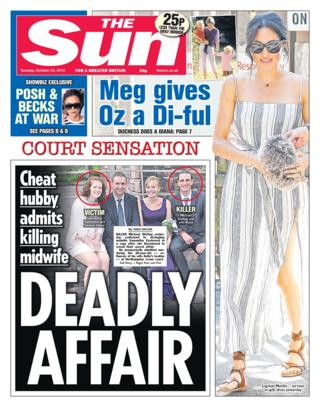 Sun front page - 23/10/18