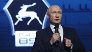 بوتين أعلن قراره في خطاب له في مصنع للسيارات