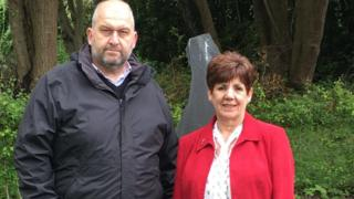 Carl Sargeant a Kath Webster