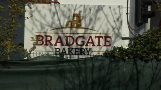 Bradgate Bakery sign