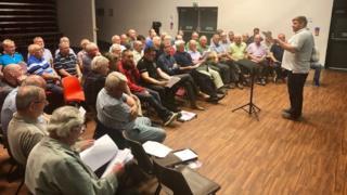 Glastonbury: Damon Albarn to perform with male voice choir