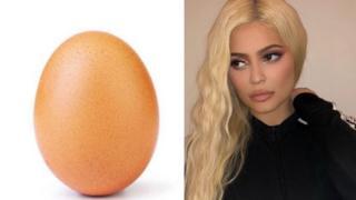 अंडा और कायली जेनर