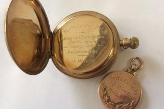 Notts County gold medal auction