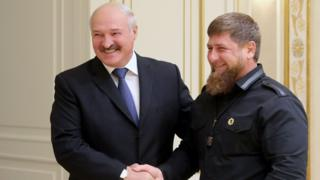 Александр Лукашенко и Рамзан Кадыров