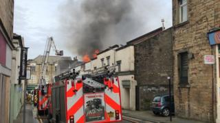 Fire on Mary Street, Lancaster