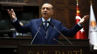 Erdoğan grup konuşması