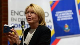 Luisa Ortega, file photo, 6 August 2017