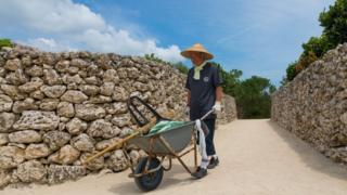 Agricultor japonés