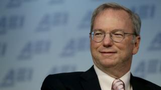 Google Executive Chairman Eric Schmidt in March