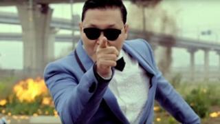 Gangnam Style ilikuwa video inayotazamwa zaidi katika mtandao wa Yutube.