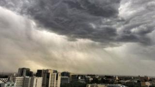 العاصفة في ميلبورن