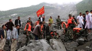 四川茂縣山體垮塌118人失聯 最小僅三歲
