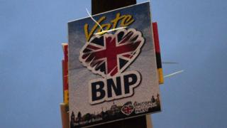 BNP placard