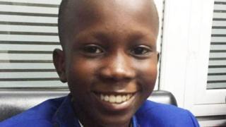 Viemens Bamfo est le plus jeune des quelque 3 000 étudiants inscrits à l'Université du Ghana.