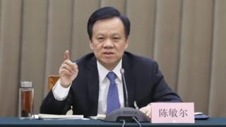 政治新星陈敏尔