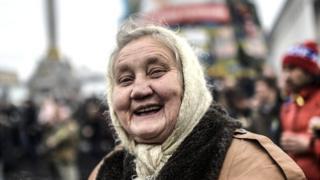 Старенька бабуся