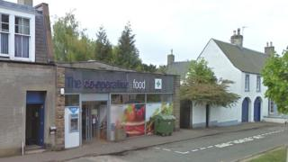 Co-op on Main Street, Ormiston