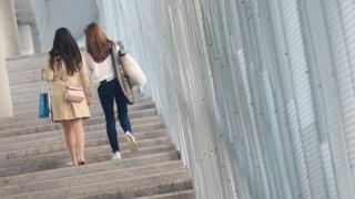 香港演艺学院附近人行天桥(3/1/2020)