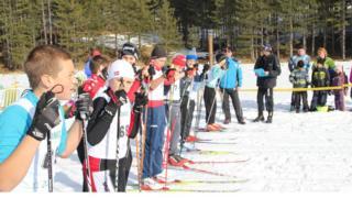 Takmičenje na Zlatiboru u skijaškom trčanju