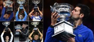 Svi Novakovi trofeji