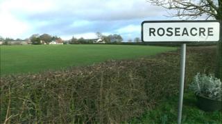 Roseacre sign