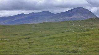 Fisherfield mountains