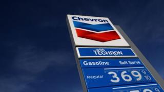 Letrero de Chevron.