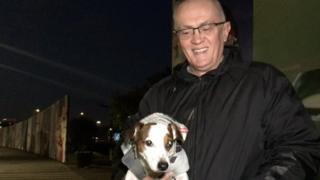 Šabić i pas Mile