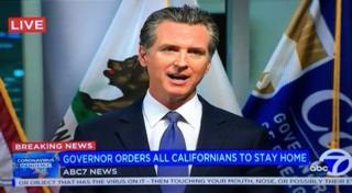 Th?ng ??c California Gavin 1593太阳集团城一切网址om ra l?nh c?m túc lúc 6 gi? chi?u 19/3