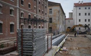 Exterior of new cultural quarter