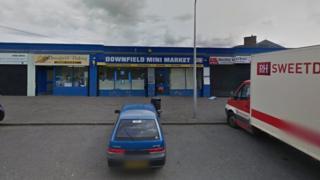 Shops in Teviotdale Avenue