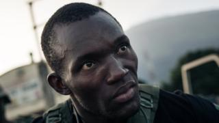 Cameroonian soldier