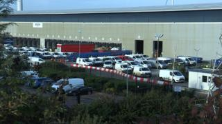 Amazon Avonmouth depot