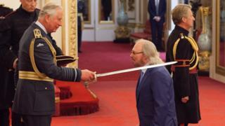 Sir Barry Gibb