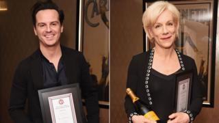 Andrew Scott and Juliet Stevenson