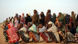 Wakimbizi katika kambi ya Dadaab