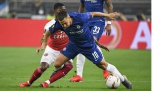 Mchezaji wa Chelsea Eden Hazard