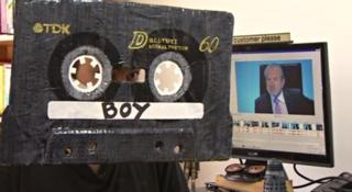 Cassette boy from BBC programme